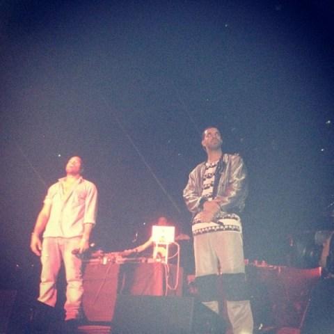 Drake Kanye West OVO Fest
