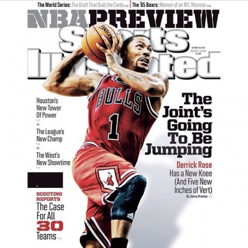 Derrick Rose Sports Illustrated