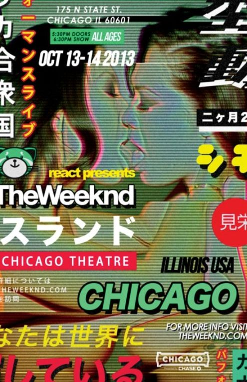 The Weeknd Chicago Theater