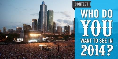 Lollapalooza 2014 Contest
