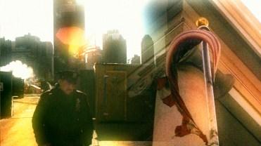 Y Yoga Movie Prod Still 911 Ground Zero