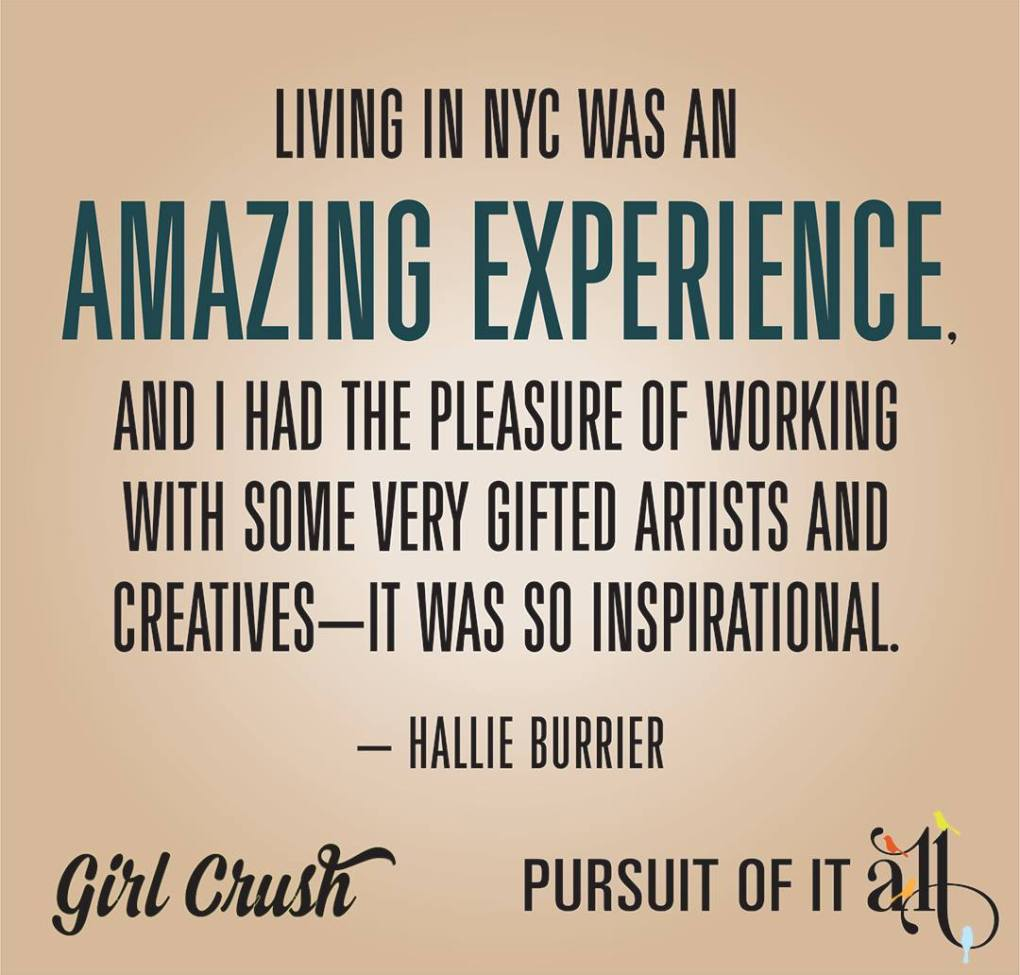 Girl Crush: Hallie Burrier from Frederick, Md.