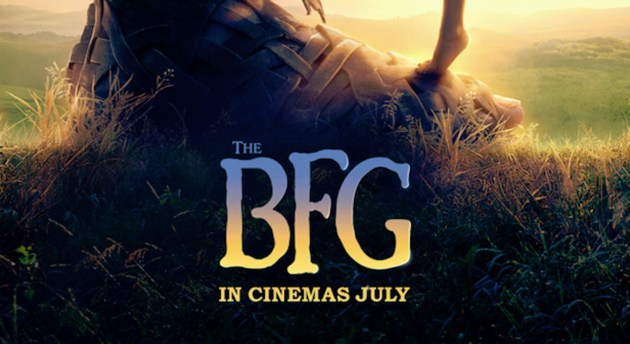 """The BFG"" — the funniest, fartiest, friendliest giant you'll ever meet!"