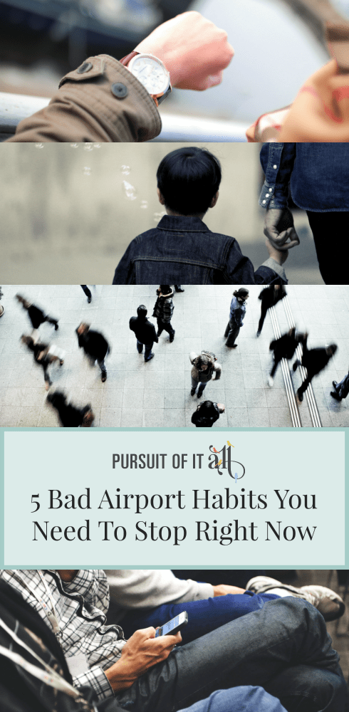 5 Bad Airport Habits You Need To Stop Right Now!