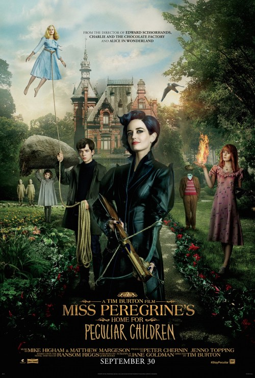 It's peculiar alright: Miss Peregrine's Home for Peculiar Children (a movie review)