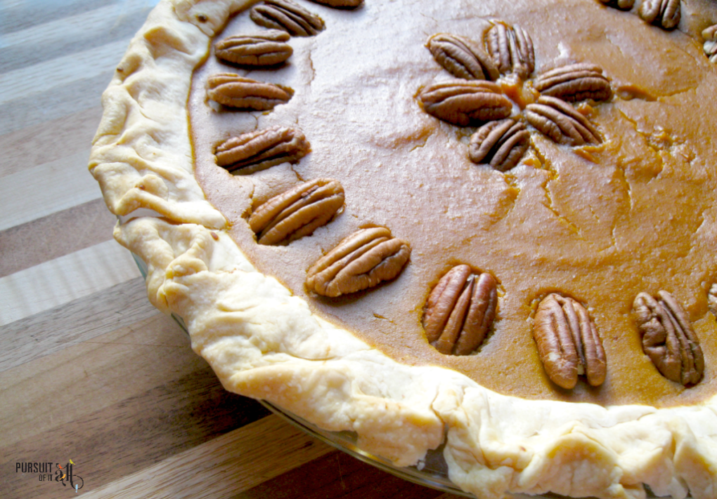 This easy pumpkin pie is the perfect addition to your Thanksgiving feast!