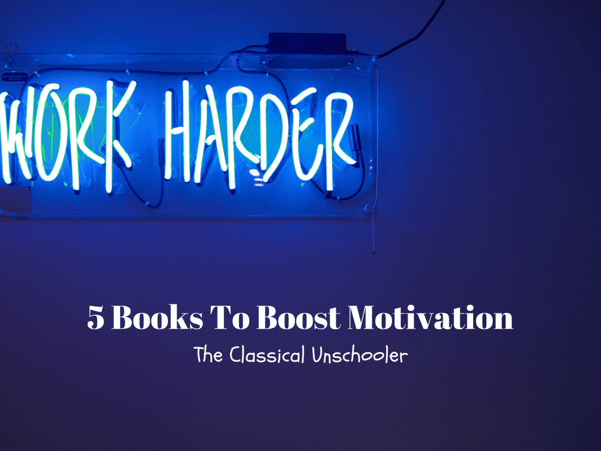 5 Books To Boost Motivation