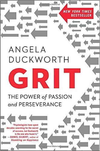 Must read: Grit by Angela Duckworth