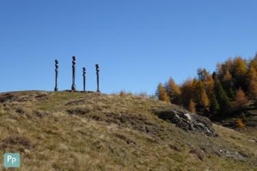 Skulpturen Dreibündenstein