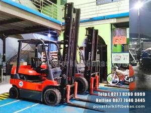 Toyota Forklift Battery 7FB25