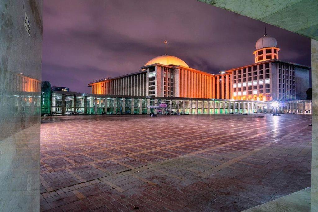 Ilustrasi Contoh Struktur Organisasi Masjid Istiqlal terbaru lengkap