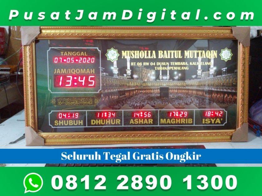 Jam Digital Untuk Masjid Tegal