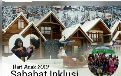 "Peringatan Hari Anak Nasional 2019, Tema ""Sahabat Inklusi"", Trans Snow World, Bekasi 28 Juli 2019"
