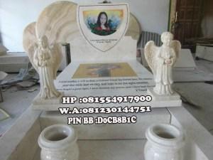 Makam Marmer Model Kristen