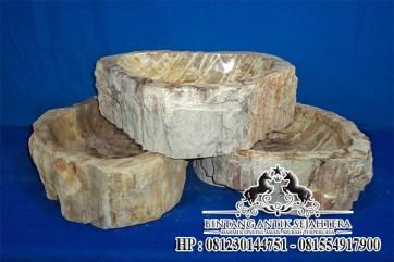 Wastafel Fosil Marmer Tulungagung