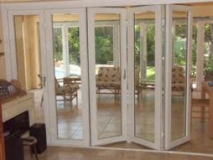 pintu lipat aluminium glass
