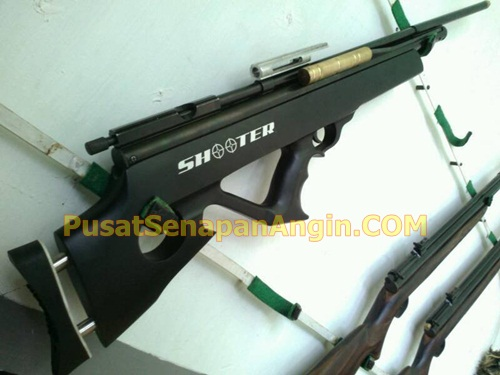 senapan angin model bullpup pompa samping