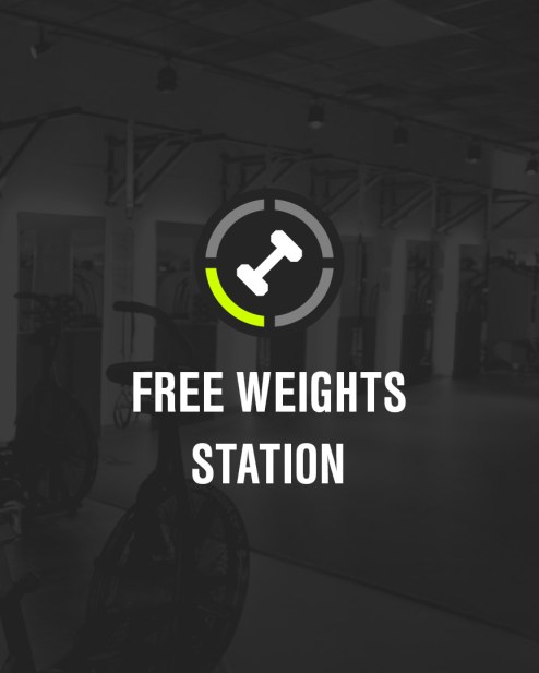 Free Weights Station