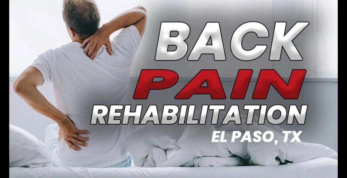 11860 Vista Del Sol Ste. 128 Back Pain Chiropractic Care | El Paso, Tx