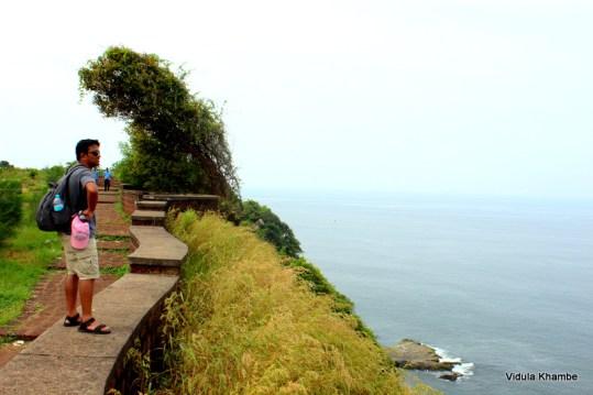 View from Ratnadurga fort - 3