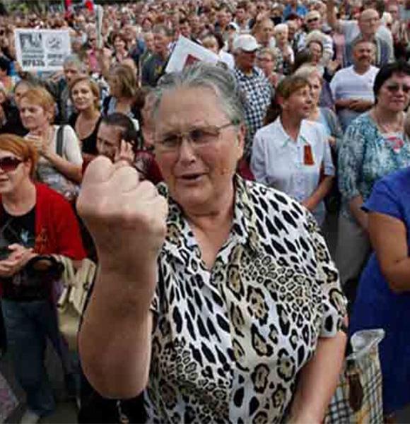 Митинг против произвола местных властей