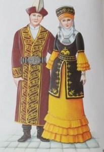 Киргизы национальный костюм