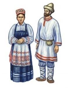 Коми национальный костюм
