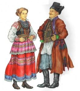 Поляки национальный костюм