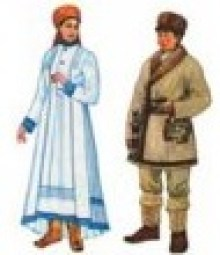 Тубалары национальный костюм