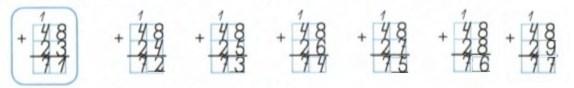 Урок 11 Сложение двузначных чисел 2