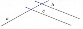 Урок 4 Пересекающиеся и параллельные прямые 5.1