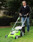 greenworks lawn mower reviews