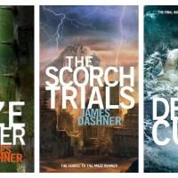Books #14, #15, & #17: The Maze Runner Trilogy