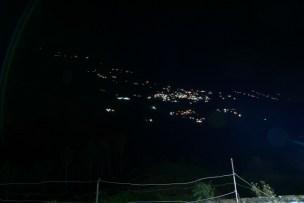 Night view of Uttarkashi