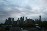 Overcast Manhattan Skyline