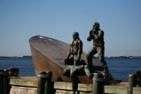 Statue in memory of Titanic Victims