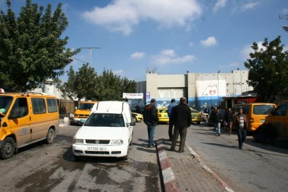 Taxi stand in Bethlehem