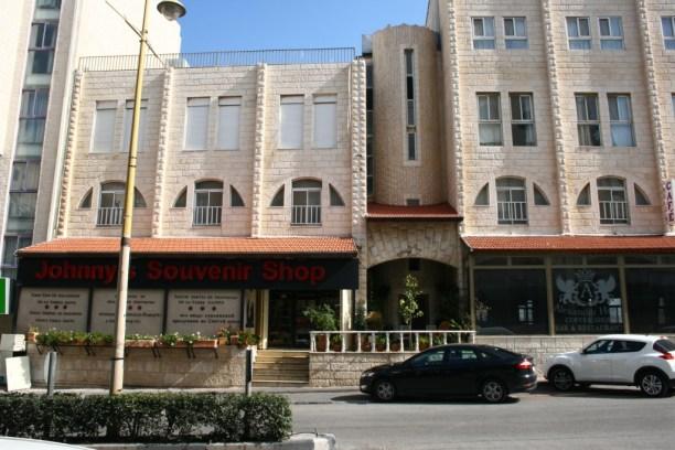 Souvenir shops in Bethlehem