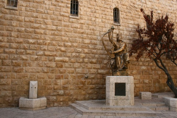 The statue of King David