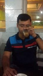 Tea break at Panagarh