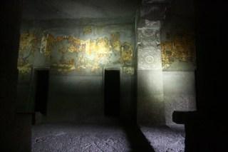 Lavish paintings on the walls