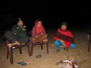 Campfire at Satkosia