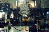 Prayer alter at the Church of Nativity