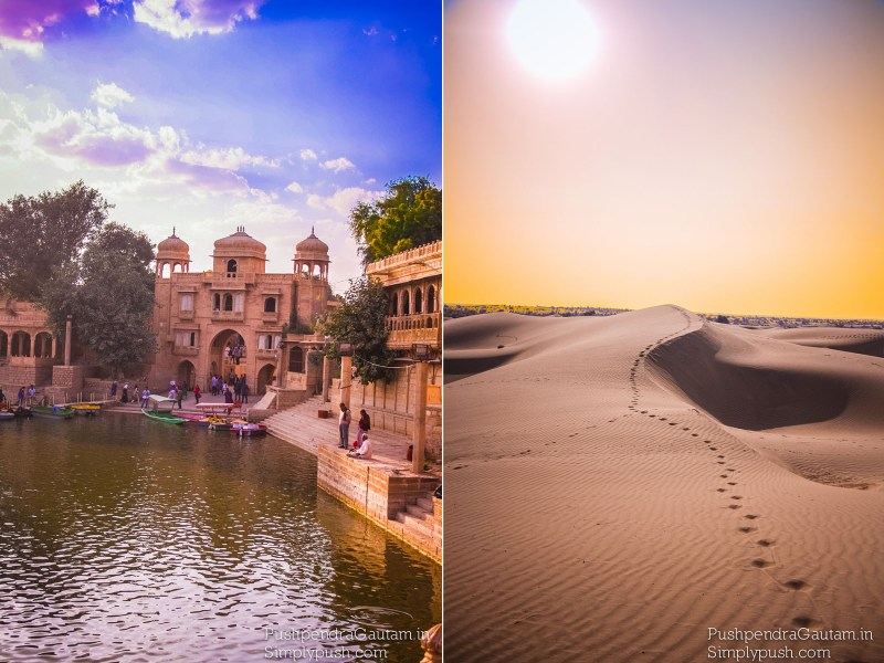 Jaisalmer The Goldern City Ragasthan India