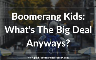 Boomerang Kids: Moochers or Normal?