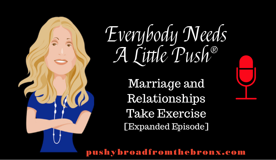Marriage and Relationships Take Exercise