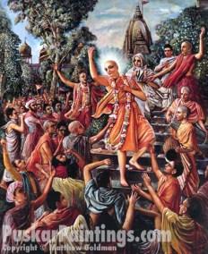 Lord Chaitanya attracts mayavadis in Varanasi