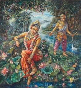 [K31] Shantanu approaches Ganga Devi