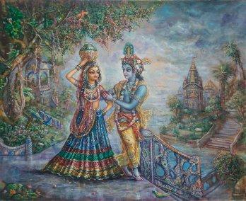 [K64] Danakeli - Krishna taxes Radha