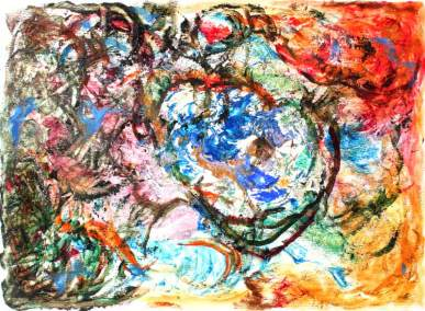 In memory of Dekooning Chagall Pollack